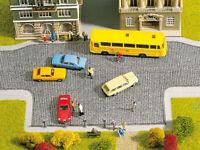 60570 Noch HO, Pflasterplatz, 20x10 cm, 2 flex Flächen, Modell Eisenbahn