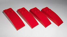 Lego (44126) 4 arcos piedras 2x6x1, en rojo de 10223 8654 8144 7665