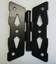 "8"" Contemporary Butterfly Hinge for Wood Fence (Set of 2)"