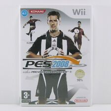Pro Evolution Soccer 2008 - Nintendo Wii Game - Complete With Manual