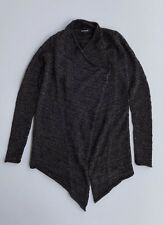 EXPRESS Womens Top Long Sleeve Cardigan Sweater Shine Open Front Small Size