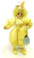 Brinns Miss Daffodil Doll March Bright Yellow Birth Month Flora Belles Vintage