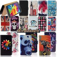 Flip Leather Wallet Card Stand Cover Case For Samsung Galaxy SmartPhones