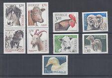 Sweden Sc 2047-2060A MNH. 1994-95 Domestic Animals, cplt set, VF.