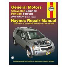 For Chevy Equinox 2005-2012 Haynes Manuals Repair Manual