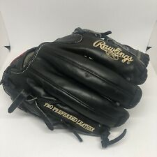 """Rawlings Pro Preferred Leather PROS1175-9KB 11.75"""" Left Hand Throw"""
