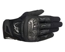 Alpinestars SMX-2 Air Carbon v2 Leather Motorcycle Motorbike Black Gloves| Sizes