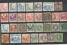 Q7083 - SVEZIA - 1966 - LOTTO USATI DIFFERENTI - VEDI FOTO
