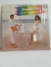 FRANKIE RUIZ en vivo y a todo color LP MFG Hialeah Florida SALSA de Puerto Rico