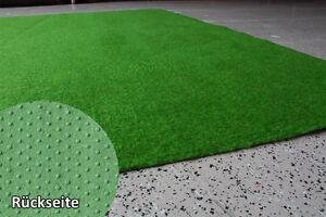 Rasenteppich Kunstrasen  Standard grün 4 m Breite Velours Weich
