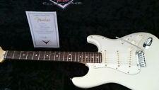 MINT 2008 Fender Custom Shop Jeff Beck Stratocaster with nitro finish