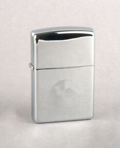 Prototype Zippo 2001 Night & Day Camel Lighter (Polished Chrome With Laser Etch)