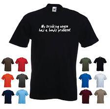'My Drinking team has a Bowls problem!' Men's Funny Bowling/ Pub / Beer Tshirt