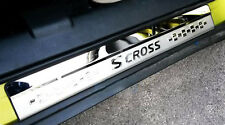 Stainless Door Sill Panel Kick Scuff Plate Protector for Suzuki S-Cross 14-19