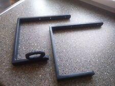 Ladder Brackets  lockable, Heavy Duty, SOLID STEEL , LOCKABLE, BLACKSMITH  MADE