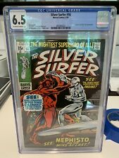 Silver Surfer #16 CGC 6.5 - Mephisto - 4th appearance - Buscema cover !!!