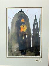Salvador Dali Lithograph Biblia Sacra Quis Ascendet In Mentem Domini 1985
