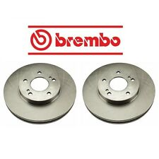 NEW Set of 2 Front Disc Brake Rotors Brembo 25545 fits Infiniti J30 Q45