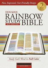 Holman Rainbow Study Bible: KJV, Brown Leather Touch (2014, Imitation Leather)