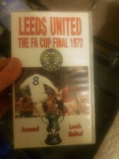 Fa Cup Final 1972 Leeds United V Arsenal VHS