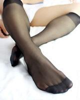 lieomo Men's Casual Sheer Soft Velvet Silky Thin Dress Socks YF131