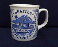 1 Seattle Washington Coffee Mug Cup Travel Souvenir Northwest Collectible Good