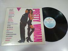 """Pretty Woman Soundtrack David Bowie Roxette 1990 - LP Vinilo 12"""" VG/VG"""
