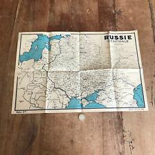 carte géographique N130 russie centrale