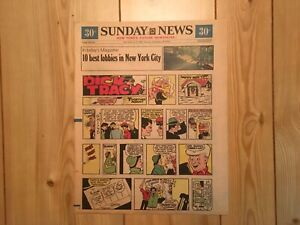 1975 New York Sunday Daily News color comic section December 28 1975