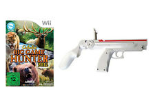 CABELAS Big Game Hunter 2012 incl. Blaster Mini gun pistolet pour nintendo wii
