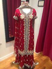 Pakistani Bridal Lehenga Red Indian Lehenga Heavy Lengha Choli Wedding Lehnga
