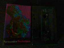 NEW ORDER TECHNIQUE ULTRA RARE AUSSIE CASSETTE TAPE!