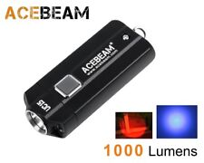 New AceBeam UC15 CREE XP-L2 , Nichia LED 1000 Lumens LED Flashlight (AAA, 10440)