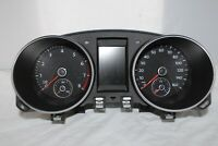 Speedometer Instrument Cluster Dash Panel Gauges 10 11 VW Golf GTI 38,541 Miles