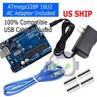 Development Board For ARDUINO UNO R3 ATmega328P ATmega16U2with USB Cable