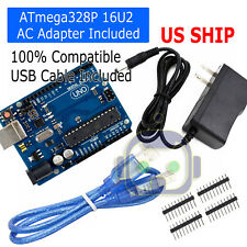Development Board For ARDUINO UNO R3 ATmega328P ATmega16U2with USB Cable