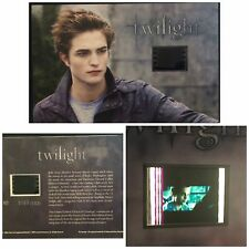 Twilight Robert Pattinson Limited Edition #6 Film Cell Numbered