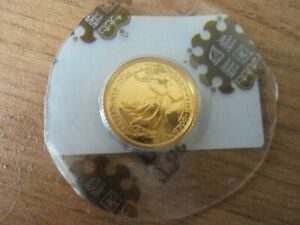 2014 Britannia Gold Coin 1/10 Oz . BUNC IN ROYAL MINT BLISTER PACK