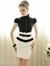 Ruffle short sleeve blouse