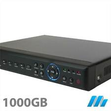 4 Channel 4CH  Security D1 DVR 1TB Hard Drive Installed - iPhone internet H264
