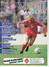 BL 86/87 FC Bayern München - 1. FC Kaiserslautern