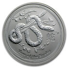2013 1/2 oz Silver Australian Perth Mint Lunar Year of the Snake Coin
