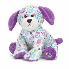 Webkinz Peace Out Puppy by Ganz  New with Sealed Code Tag attached