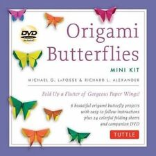 Origami Butterflies Mini Kit Fold up a Flutter of Goorgeous Paper Wings Lafoss