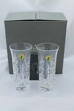 Waterford Rowena Iced Tea Crystal Glasses