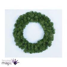 Ghirlande, corone e fiori natalizi verde Natale