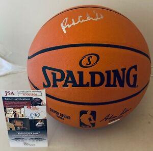 Rick Carlisle Dallas Mavericks signed F/S NBA Silver Series Basketball Ball JSA