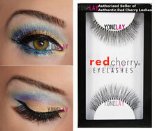 Lot 6 Pairs Genuine Red Cherry #747M Birmingham False Eyelashes Strip Lashes
