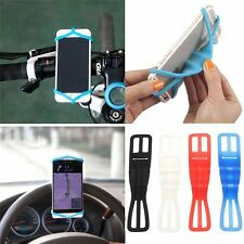 Silicone Bicycle Motorcycle Bike Mount Holder Band For Smart Cell Phone NEW