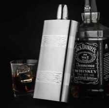 Luxury Big Beautiful Elegant Hip Flask Set For Whisky Vodka 500 ml
